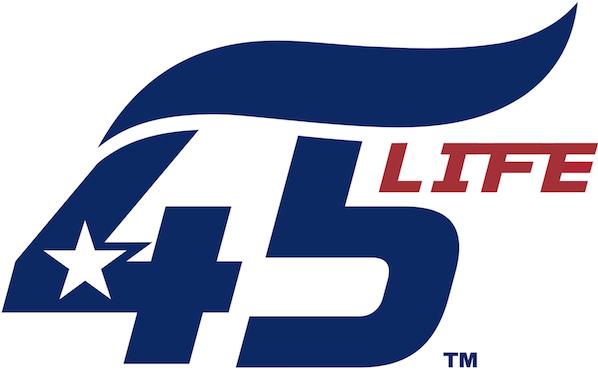 45 Life™ Logo